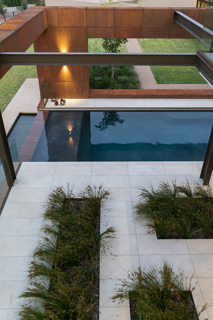 Mooikloof Heights Nico Van Der Meulen Architects Modern pool