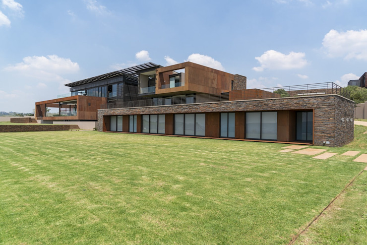 Mooikloof Heights Nico Van Der Meulen Architects Modern houses