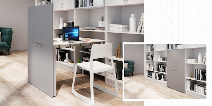 Atim Spa Study/officeDesks Aluminium/Zinc