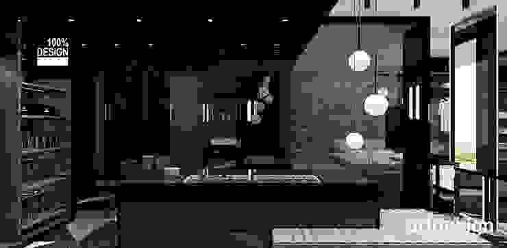 ARTDESIGN architektura wnętrz Vestidores de estilo moderno
