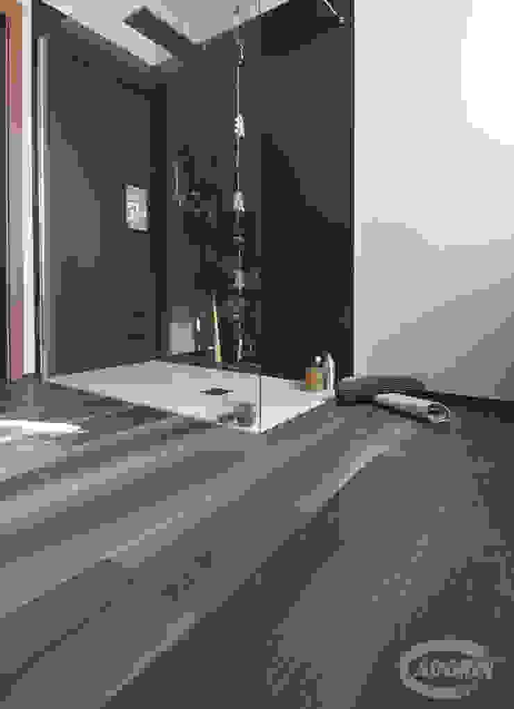 Parquet - Bathroom and Kid's Room Cadorin Group Srl - Italian craftsmanship production Wood flooring and Coverings Modern Bathroom