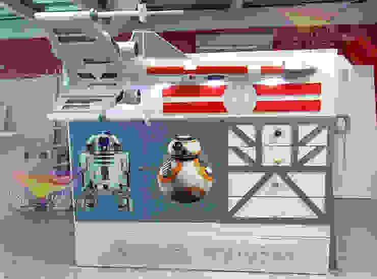 Kids Wolrd- Recamaras Literas y Muebles para niños Nursery/kid's roomBeds & cribs Kayu Buatan Grey