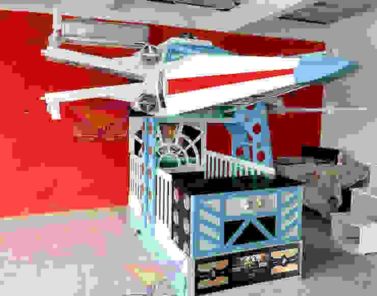 Increíble cuna de Xwing de Kids Wolrd- Recamaras Literas y Muebles para niños Clásico Derivados de madera Transparente