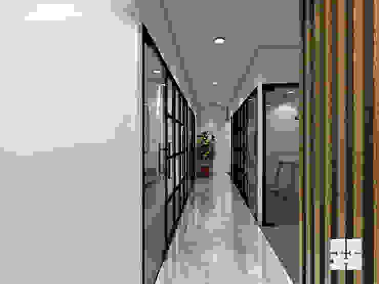 Corridor: modern  by Paimaish,Modern