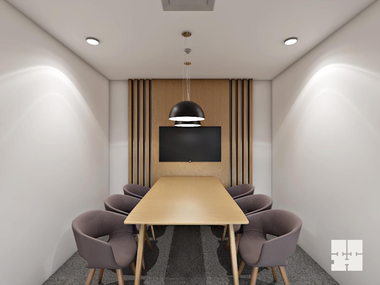 Conference Room: modern  by Paimaish,Modern
