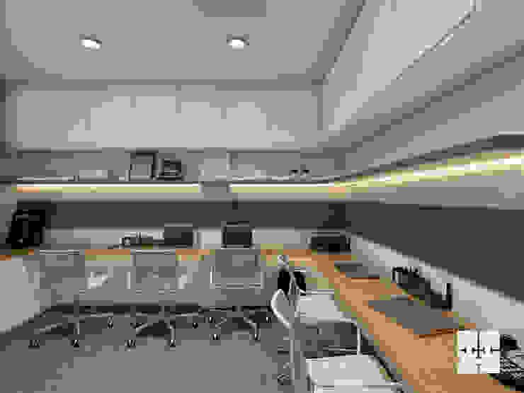 Work Station: modern  by Paimaish,Modern