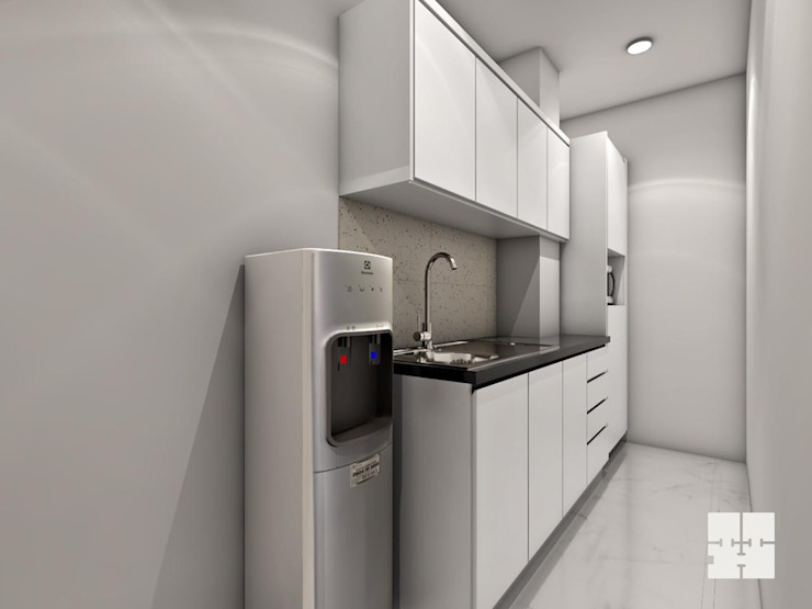 Office Pantry Area: modern  by Paimaish,Modern