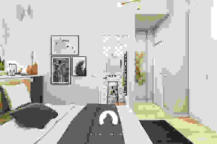 Spazio - Ristrutturazioni Modern Bedroom Grey