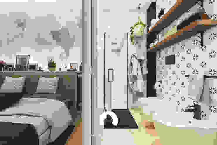 Spazio - Ristrutturazioni Modern Bathroom White