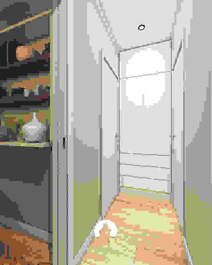 Spazio - Ristrutturazioni Modern Corridor, Hallway and Staircase Grey