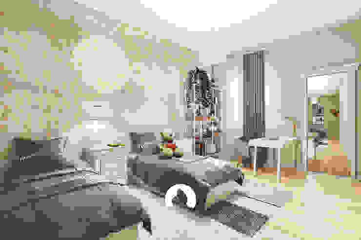 Spazio - Ristrutturazioni Modern Bedroom Beige