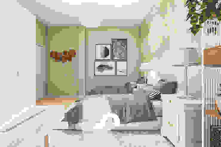 Spazio - Ristrutturazioni Small bedroom Beige