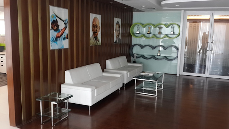VIP Lounge Area S4S Interiors LLP Classic commercial spaces