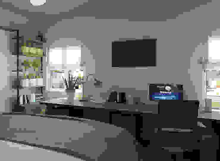 Glancing EYE - Asesoramiento y decoración en diseños 3D Modern style bedroom