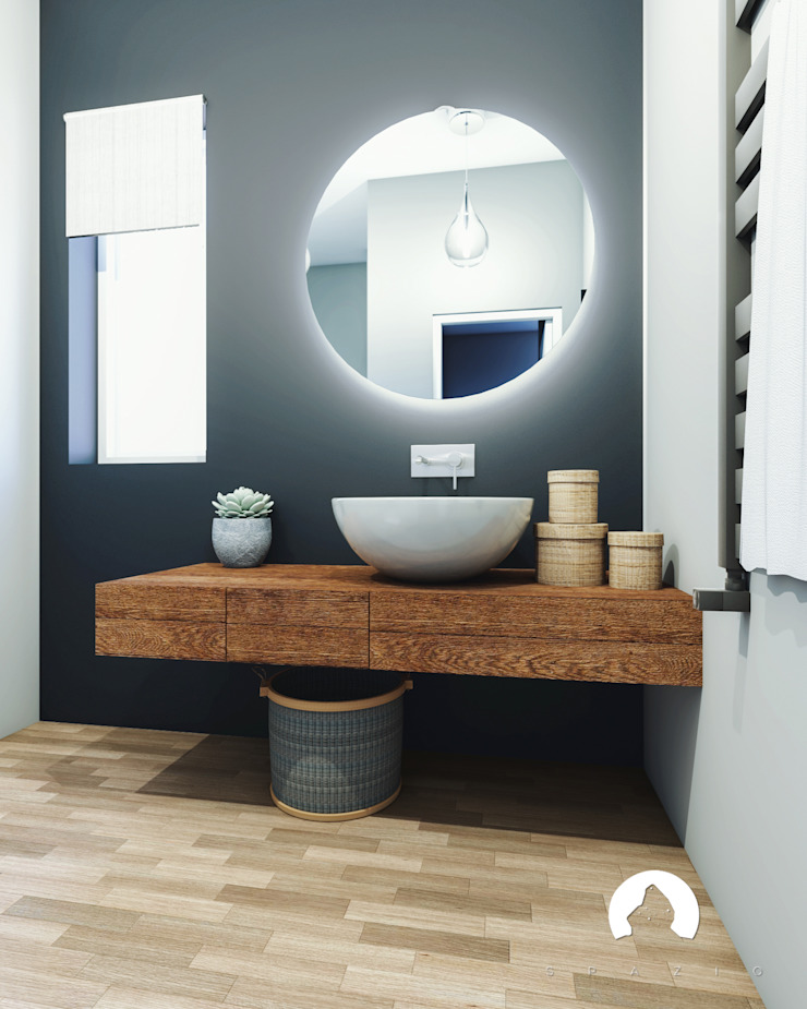 Spazio - Ristrutturazioni Modern Bathroom