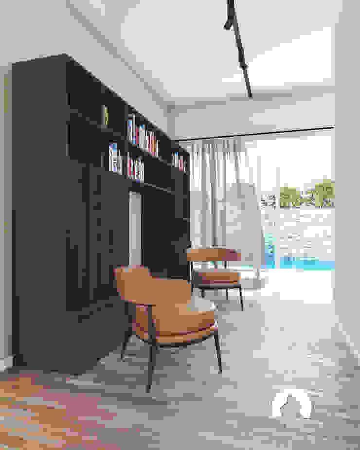 Spazio - Ristrutturazioni Modern Corridor, Hallway and Staircase Beige