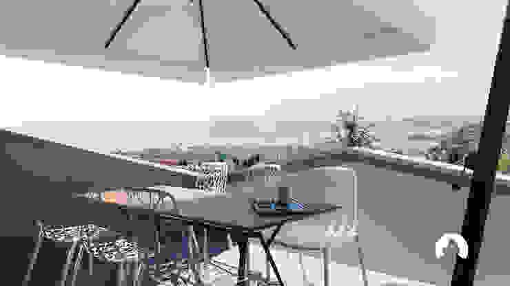 Spazio - Ristrutturazioni Modern Terrace