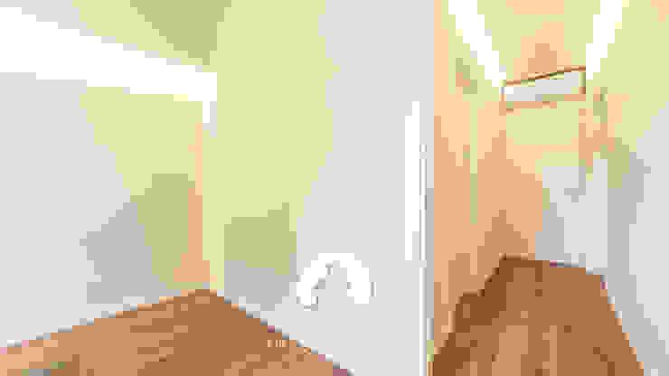 Spazio - Ristrutturazioni Minimalist corridor, hallway & stairs