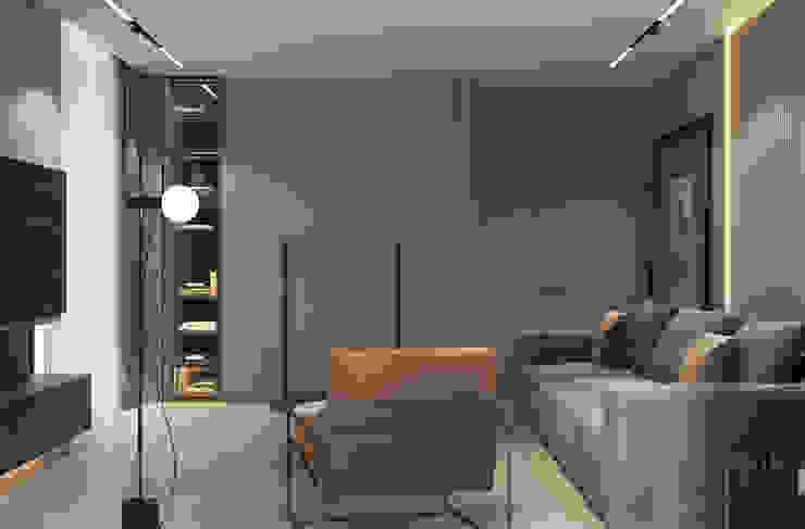 YOUSUPOVA Livings de estilo minimalista