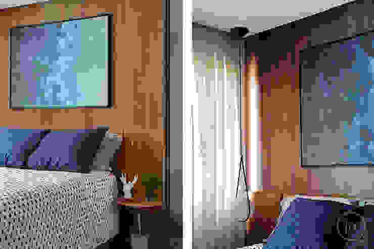 fpr Studio BedroomBeds & headboards Wood effect