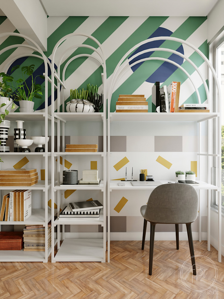 fpr Studio Office spaces & stores Multicolored