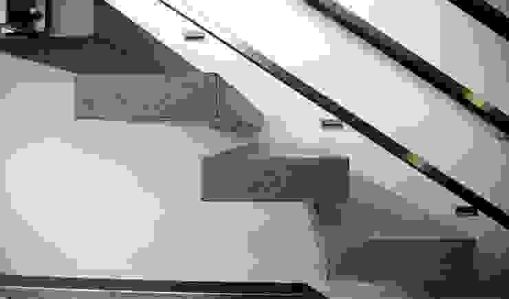 Kragstufen material raum form Treppe Beton