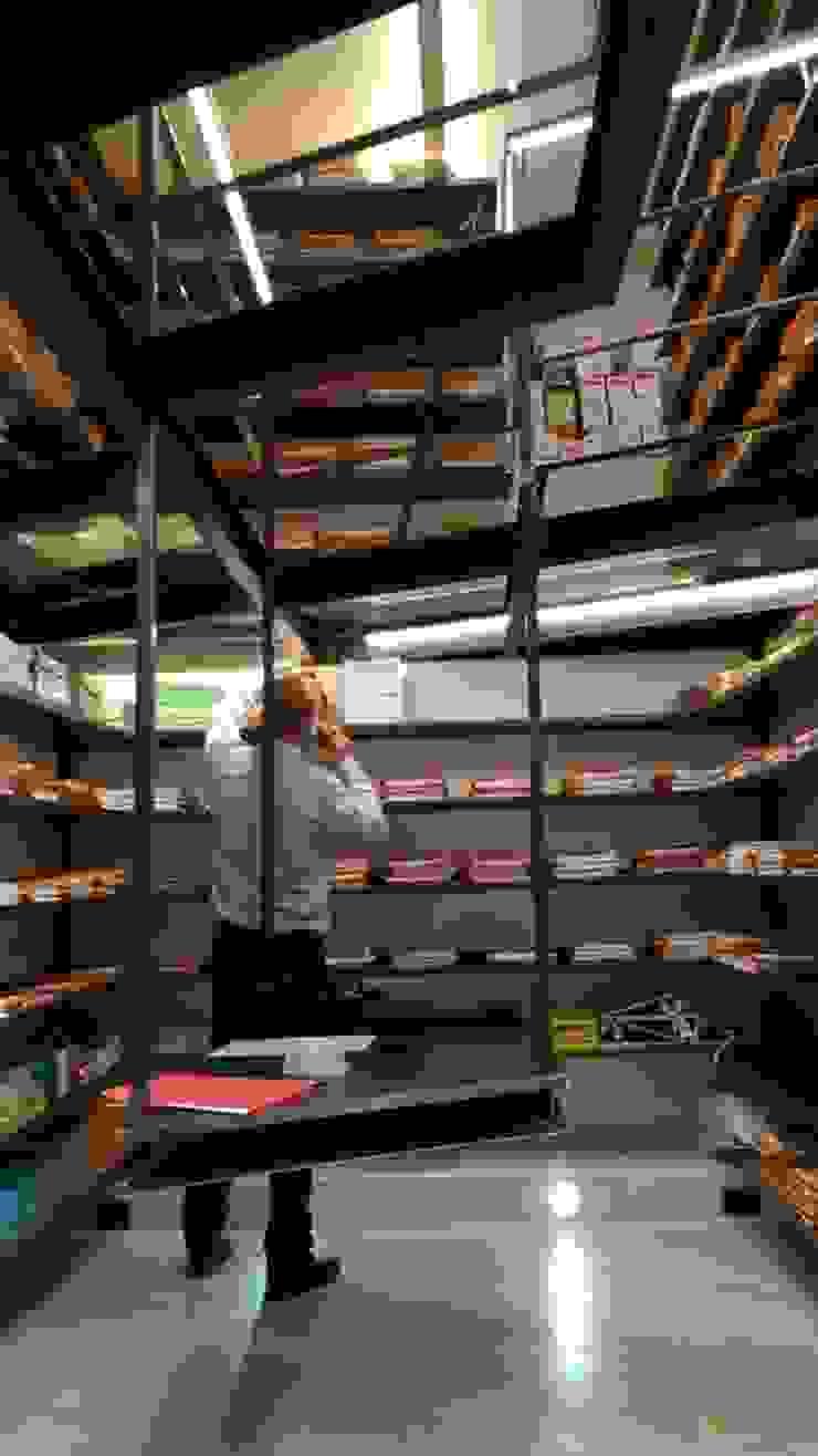 Archivio pratiche Complesso d'uffici in stile industrial di Dr-Z Architects Industrial Ferro / Acciaio