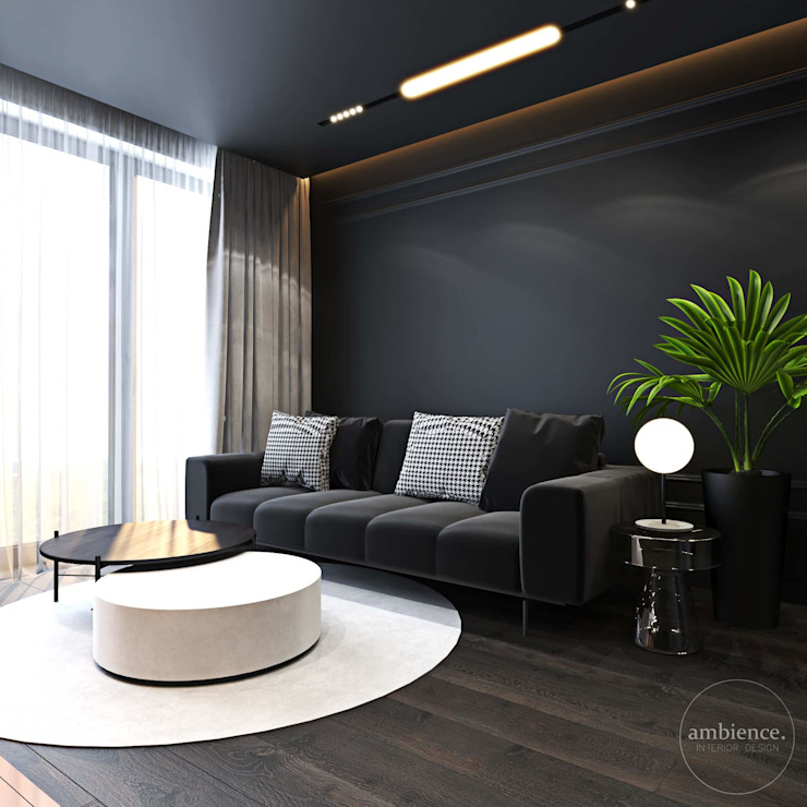 Ambience. Interior Design Salon moderne