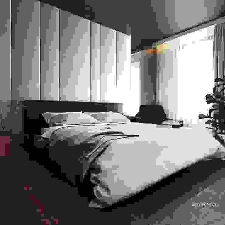 Ambience. Interior Design Modern Yatak Odası