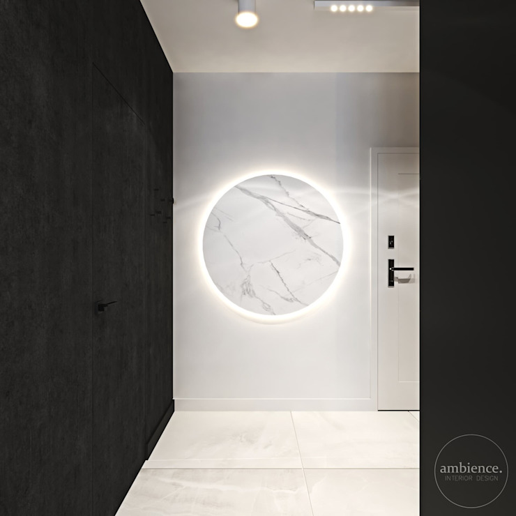 Ambience. Interior Design Modern Koridor, Hol & Merdivenler