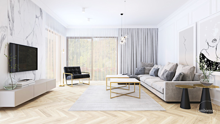 Ambience. Interior Design Salas de estilo clásico