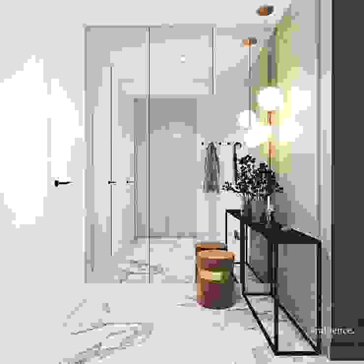 Ambience. Interior Design Pasillos, vestíbulos y escaleras de estilo clásico