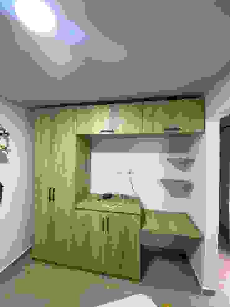 spatium consilium Boys Bedroom Chipboard Wood effect