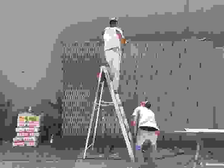 Porton con corte plasma c05 herrería Puertas modernas Metal Gris