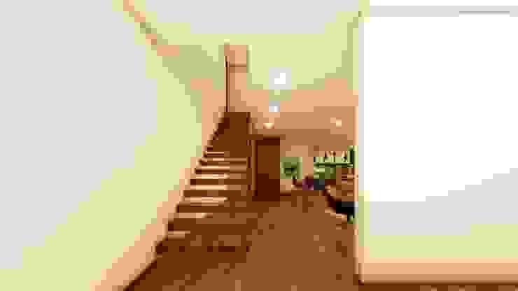 Casa da escola Corredores, halls e escadas modernos por Miguel Zarcos Palma Moderno