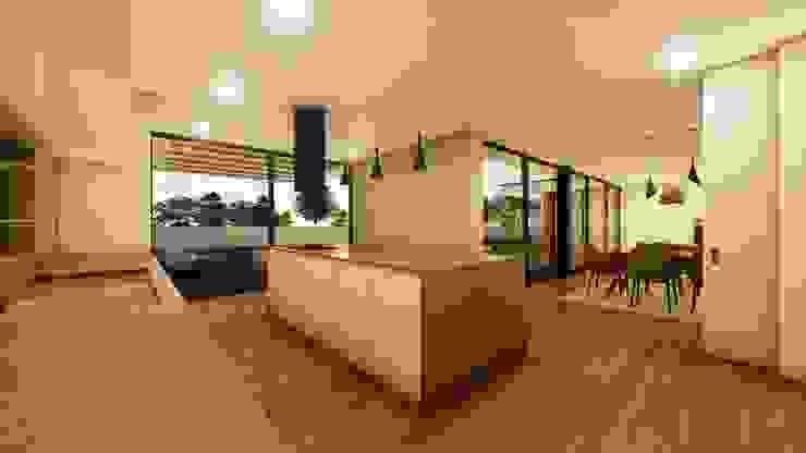 Casa da escola Cozinhas modernas por Miguel Zarcos Palma Moderno
