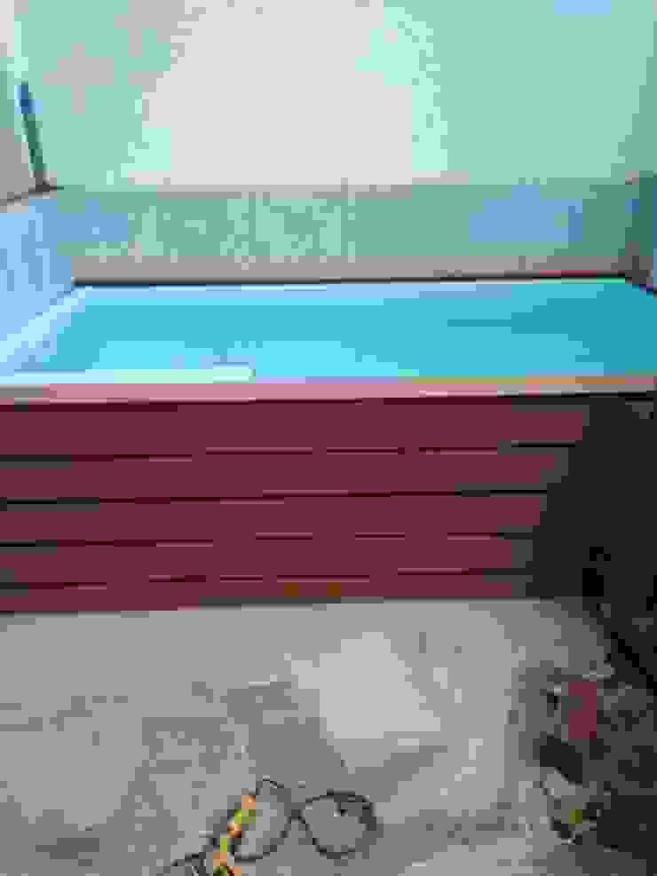 Acabado en deck Pool Solei