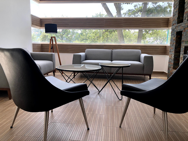 Alejandra Zavala P. Living roomSide tables & trays Metal Black
