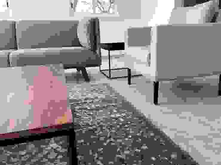 Alejandra Zavala P. Living roomAccessories & decoration Wool Grey
