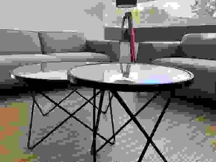 Alejandra Zavala P. Living roomAccessories & decoration Metal Black