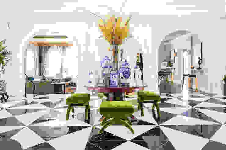 2018 Showcase House of Design – Grand Foyer by Amy Peltier Interior Design & Home Classic