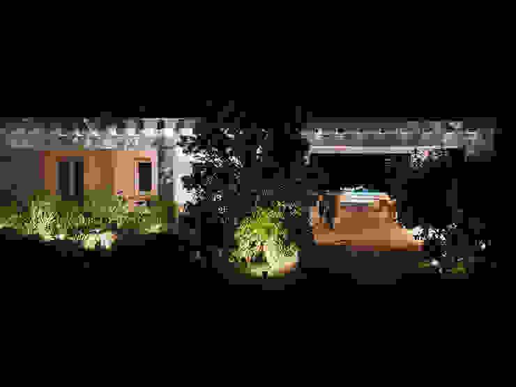 Casas de estilo mediterráneo de Architetto Alessandro spano Mediterráneo