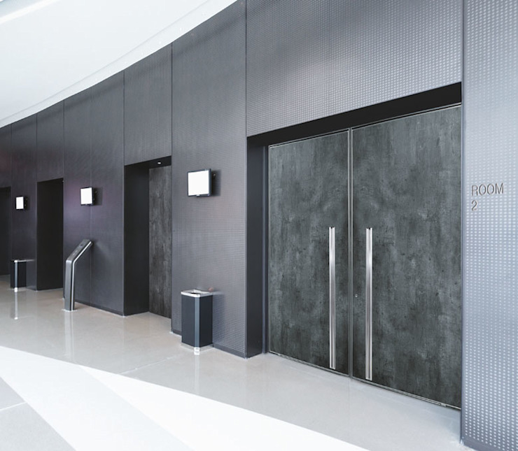 Gasperotti Srl Windows & doors Doors Grey