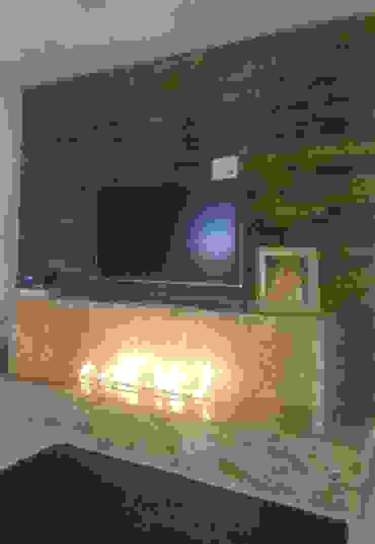 Rebello Pedras Decorativas Living roomFireplaces & accessories Marble Brown