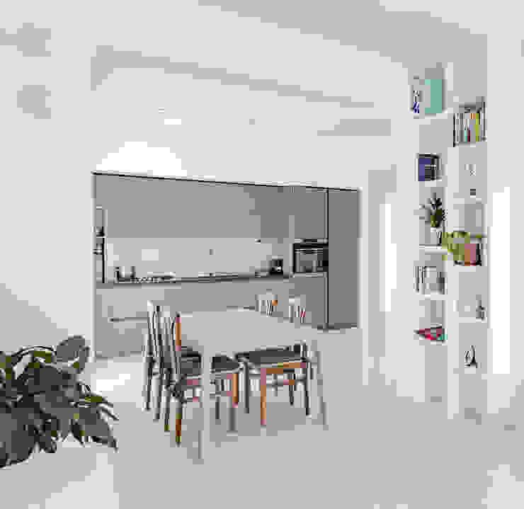 Casa s9 Caleidoscopio Architettura Cucina moderna Verde