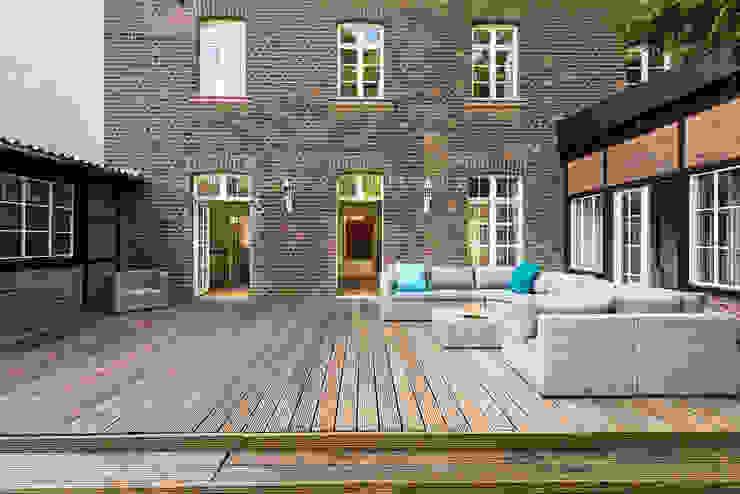Terrasse Immotionelles Klassischer Balkon, Veranda & Terrasse