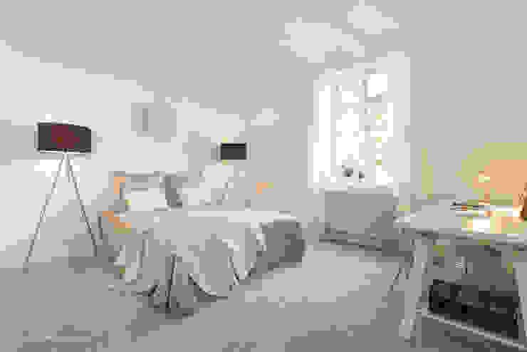 Herrschaftliches Familiendomizil Immotionelles Schlafzimmer im Landhausstil