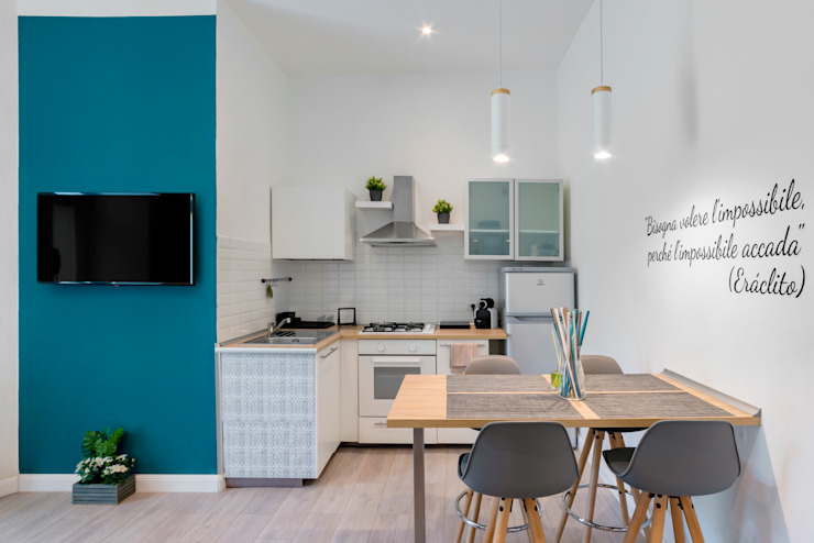 Angolo Cottura Cucina moderna di antonio felicetti architettura & interior design Moderno