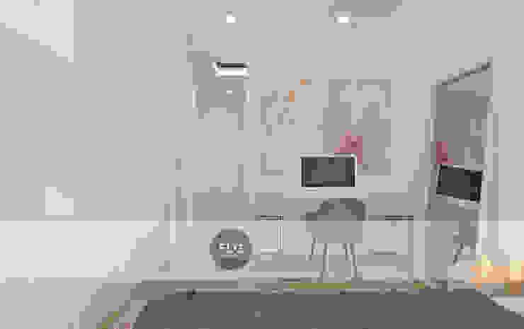 Moradia Pré-Fabricada Quartos minimalistas por FLGarciaDesign Minimalista