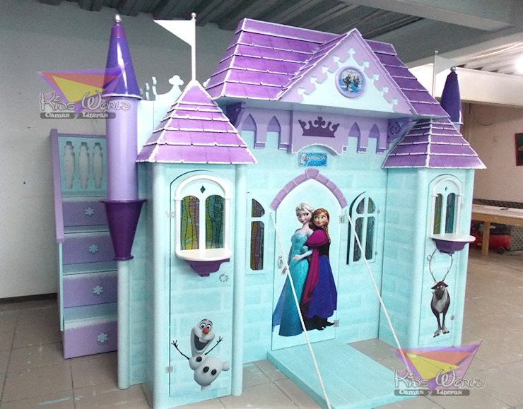 Kids Wolrd- Recamaras Literas y Muebles para niños Nursery/kid's roomBeds & cribs Kayu Buatan Blue